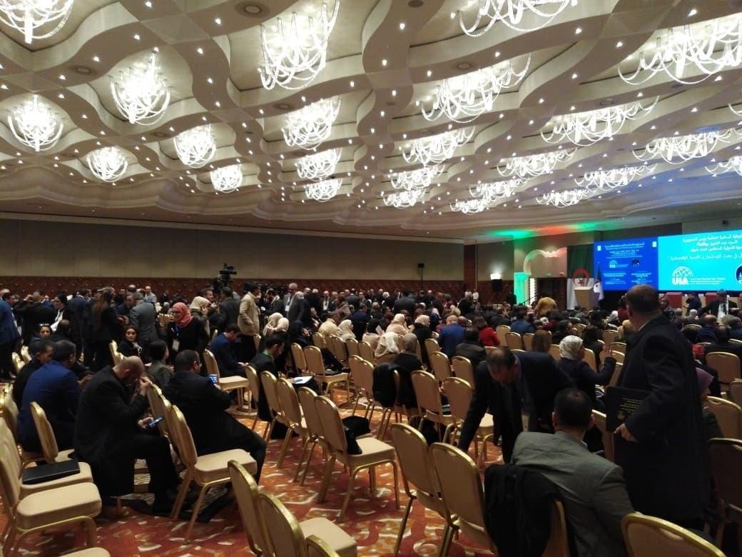 Фото: Конференция в Алжире, посвященная роли адвоката в экономическом развитии государств и инвестировании